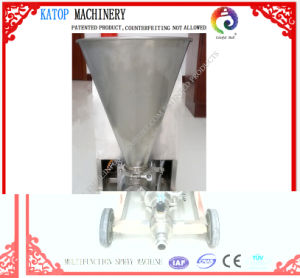 Used for High Viscosity (cement 60%, fine sand 10%, water 30%) Spraying Machine pictures & photos