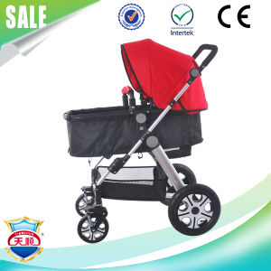 Factory Supply 3 in 1 Aluminium Alloy Baby Stroller pictures & photos