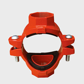 FM/UL/Ce Listed Ductile Iron Threaded Mechanical Cross (6′) pictures & photos
