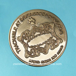 Promotion Alloy Die-Casting Souvenir Coin (Ele-C100) pictures & photos