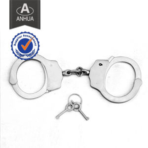 High Quality Police Handcuff with Double Locking System pictures & photos