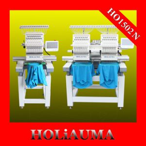 Holiauma High Speed Industrial Tubular 2 Head Embroidery Machine pictures & photos