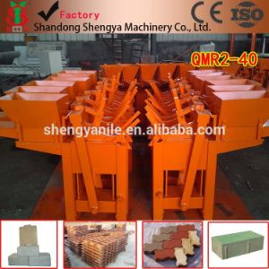 Nigeria Low Investment Interlocking Brick Making Machine of Qmr2-40 Cement Brick Making Machine Hot=Selling pictures & photos
