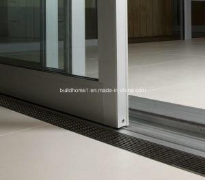 Triple Tracks Stacking Aluminium Sliding Balcony Doors pictures & photos