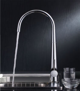 Stylish Solid Brass Kitchen Faucet