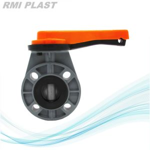 Industrial Valve CPVC Butterfly Valve pictures & photos