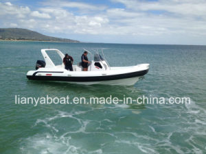 Liya 25ft Fast Rescue Boat Military Engine Boat Inflatable Boat Sales pictures & photos