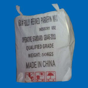 Fully and Semi Fully Refined Paraffin Wax 64-66 for Candle Making 50kg/Bag