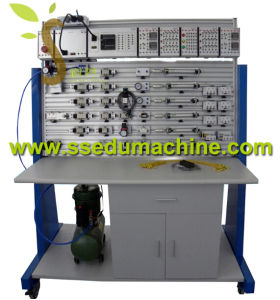 PLC Electro Pneumatic Training Workbench Technical Training Equipment Educatinal Equipment