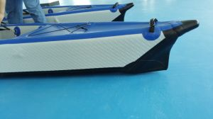 Inflatable Drop Stitch Kayak, Sit on Top Ocean Kayak pictures & photos