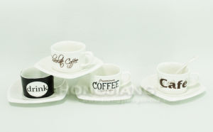 Coffee Cup & Saucer (HJ60017) pictures & photos