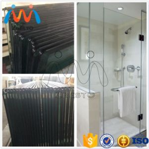 Large Shower Bathtub Cubicle Curved Glass Door Screen for Tubs