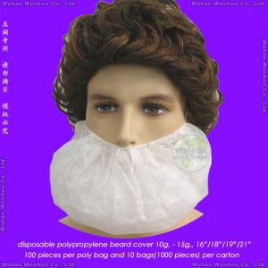 Disposable Single Elastic or Double Elastic Non-Woven Beard Cover pictures & photos
