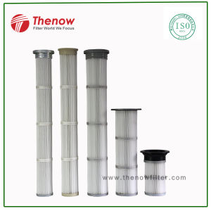 Long Pulse Pleated Air Filter Cartridges for Baghouse Dust Collector pictures & photos
