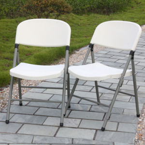 Poly Folding Chair for Outdoor Party pictures & photos