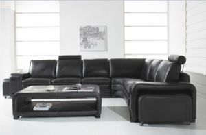 Popular American Style Sectional Sofa Jfc-8 pictures & photos
