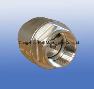 Stainless Steel 2PC Barrel Spring Check Valve pictures & photos
