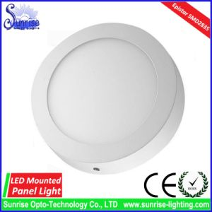 3W/6W/12W/18W/24W Mounted Round LED Panel Light