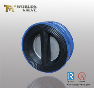 Rubber Coated Check Valve with Ss316 Disc (H77X-10/16) pictures & photos