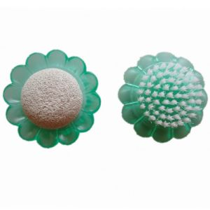 Promotion Plastic Sunflower Pumice Stone Nail Brush (JMC-392C) pictures & photos