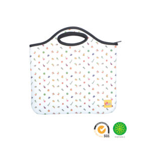 Promotional Shockproof Reusable Neoprene Tablet PC Tote Bag