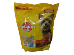 Plastic Stand up Pet Food Packaging Bag