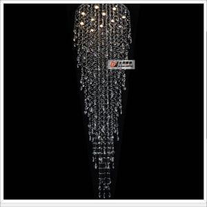 Large Chandelier Crystal LED Lighting Project Lamps L9256-12L