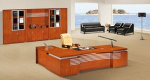 Classical Oval Executive Office Desk and Tablet Sets