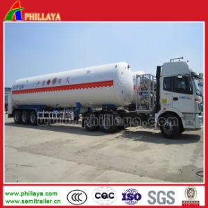 Gas Container Carrier Semi Trailer Tanker Truck Storage Tank pictures & photos