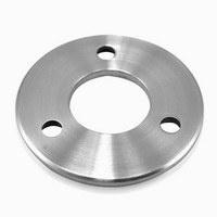 Stainless Steel Handrail Base Plate 304 Satin Finish pictures & photos