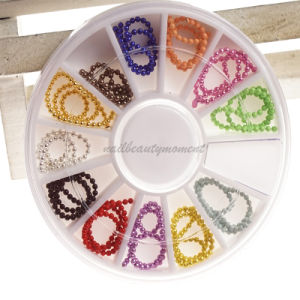 Nail Beauty Decoration Colorful Chains for Manicure (D75) pictures & photos