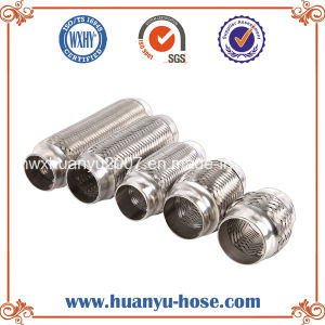 Auto Parts with Inner Braid Exhaust Flexible Pipe pictures & photos