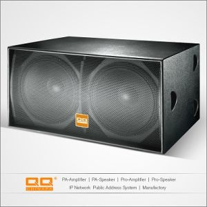 PRO Audio Speaker Subwoofer (S218) pictures & photos