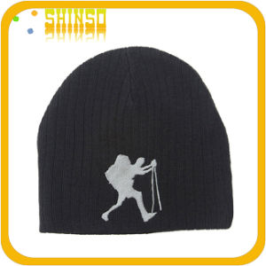 100% Cotton Winter Man Beanies Cap (BS013SST01)