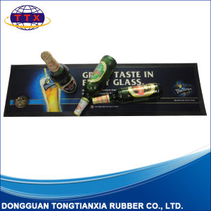 Liquid Absorbency Friendly Promotion Antislip Rubber Bar Mat pictures & photos