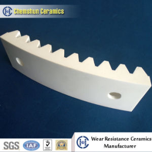 Resistance to Abrasion Custom Aluminium Oxide Ceramic Liner with Abrasion Resistance pictures & photos