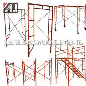H Frame Scaffolding System (SC001) for Building Construction Project pictures & photos