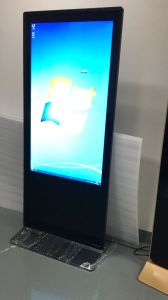 LCD Display Floor Standing 55 Inch Touch Interactive Screen All in One Kiosk pictures & photos