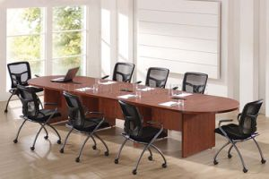 8 Seats Wooden Conference Table with Power Socket (SZ-MT037-1) pictures & photos