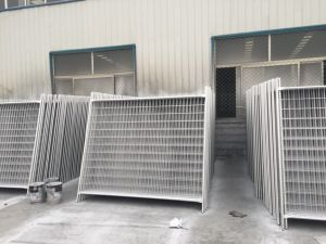 Fully Hot Dipped Galvanized Temporary Fence 84 Microns Zinc Layer in Zinc Pools pictures & photos