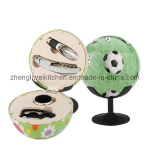 Football Shaped Wine Gift Set (608009-A) pictures & photos