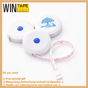 1.5m/60inch Small Custom Tailors Measuring Ruler Clothing Branded Tape Measure Sewing with Business Logo pictures & photos