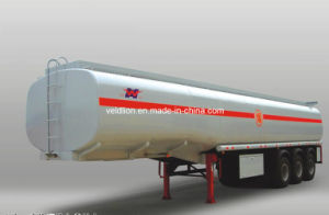 3 Axles Fuel Semi Trailer for Oil Transport pictures & photos