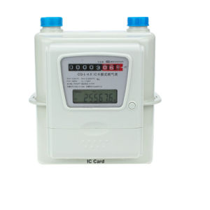 Household Aluminum Case IC Card Prepaid Intelligent Gas Meter pictures & photos