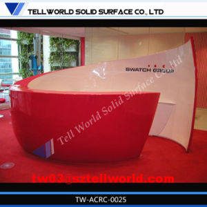 Corian Fashion Reception Counter Commercial Reception Desk pictures & photos