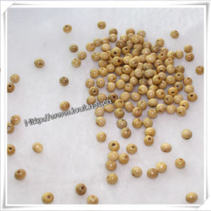 Small Size Round Natural Wood Bead with 2mm Hole (IO-wa015) pictures & photos