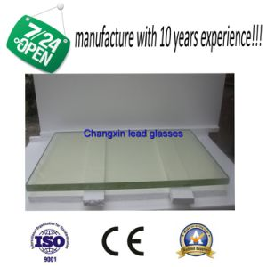 High Lead Protective Glass for CT Room pictures & photos