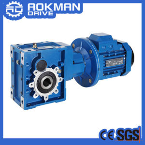 High Torque Energy Saving 90 Degree Km Helical Hypoid Reducer Gearbox pictures & photos