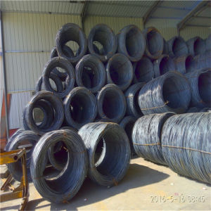 China Origin High Strength Ms Galvanized SAE 1006b/1008b/1010b Wire Rod pictures & photos