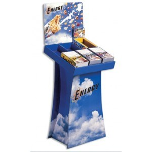 Customize Cardboard Tabletop Display Shelf pictures & photos